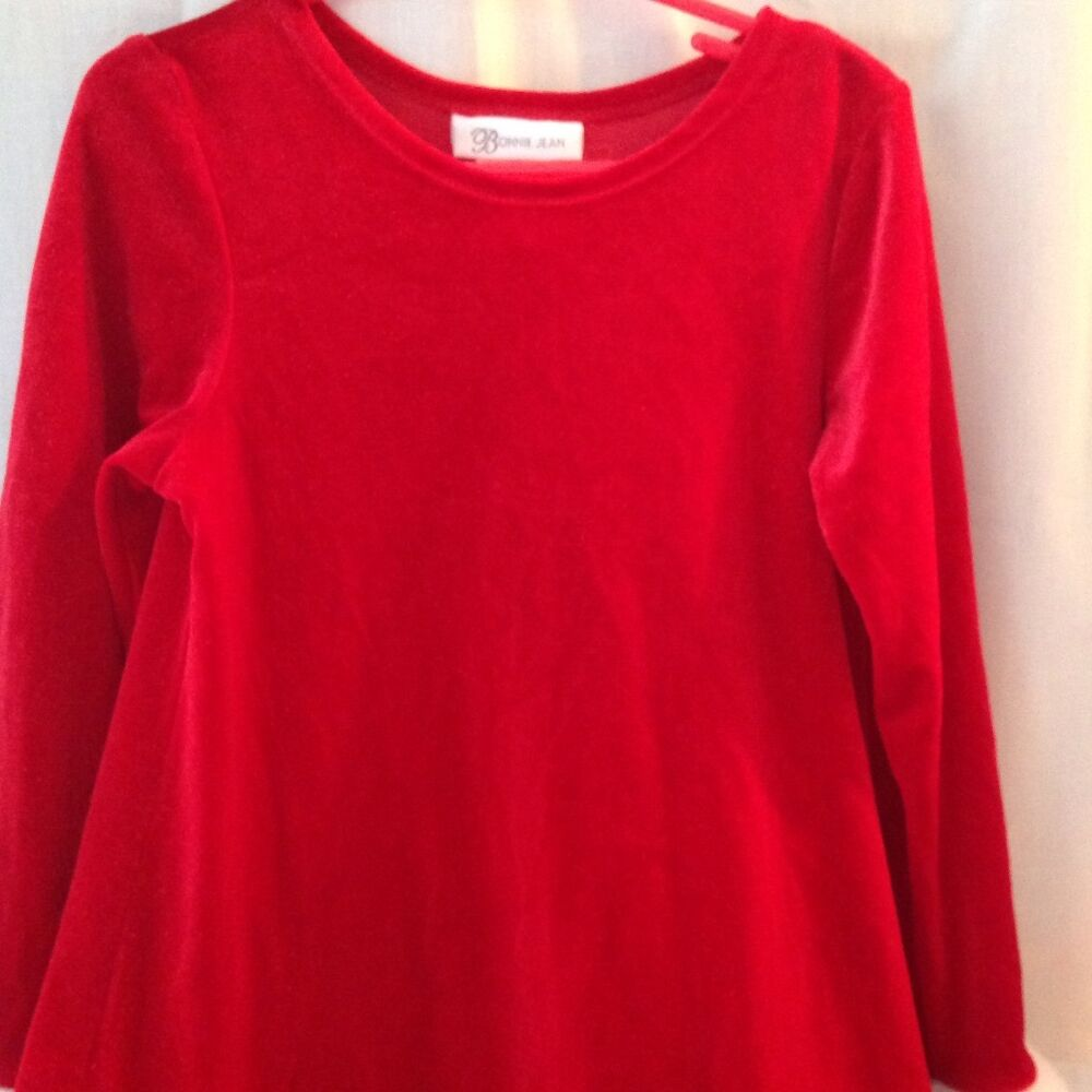 Long Sleeve Red Holiday Dress