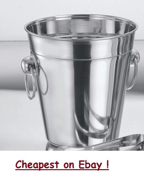 Stainless Steel Ice Bucket Cooler Wine Champagne Party Ebay