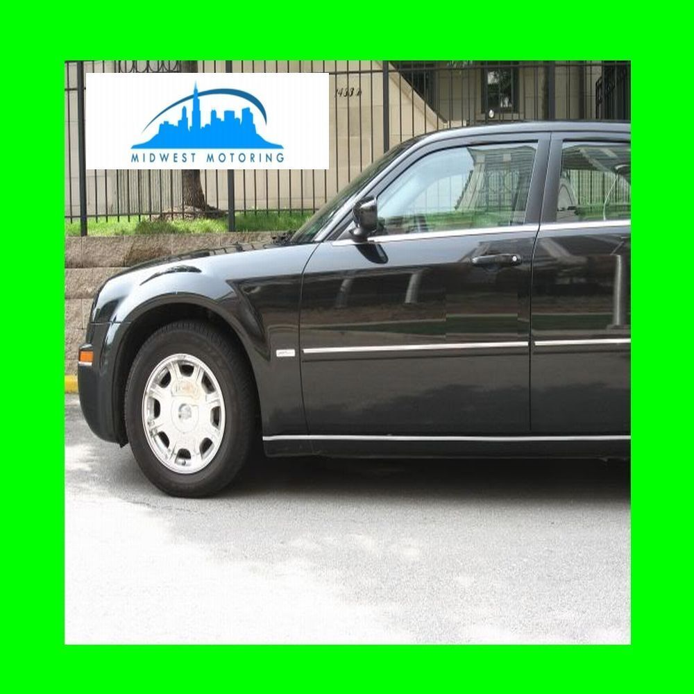 2005-2010 CHRYSLER 300 300C CHROME ROCKER TRIM PANEL