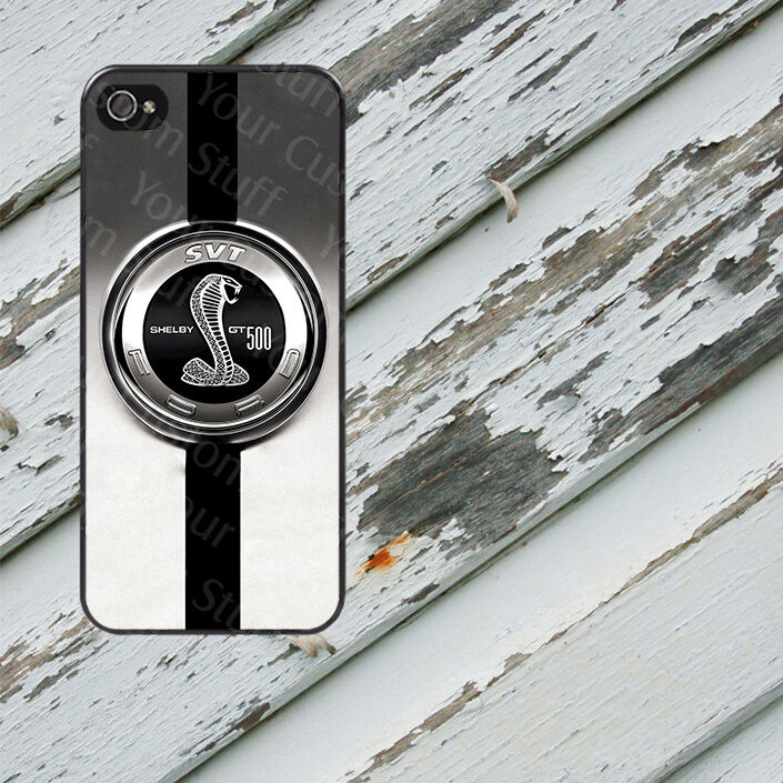 Ford Shelby Cobra Emblem Case for iPhone 5/5s/5c/6/6s/7 Galaxy S4/S5 ...