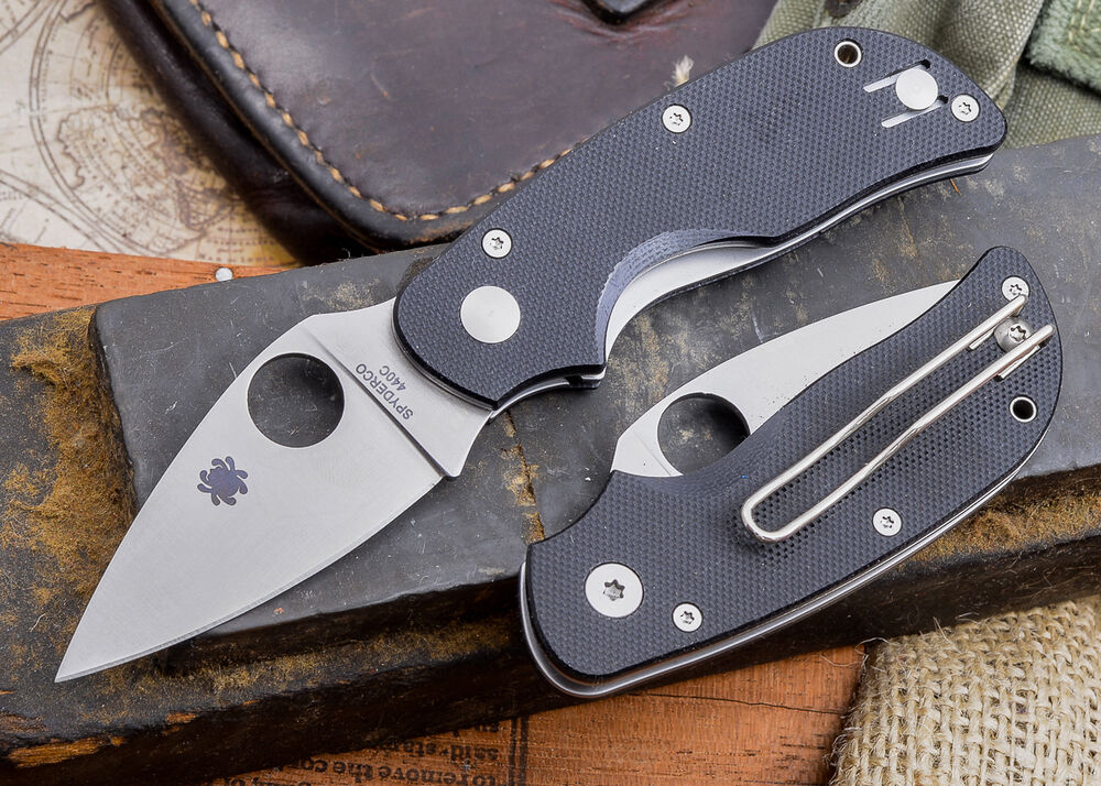 Cat 2 Blade : Spyderco cat knife quot leaf shaped blade c stainless