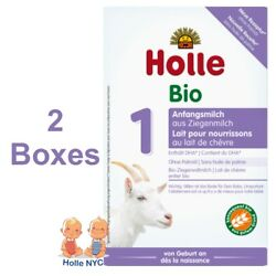 Holle Goat Milk Stage 1 Organic Formula with DHA 2 Boxes 400g Free Shipping