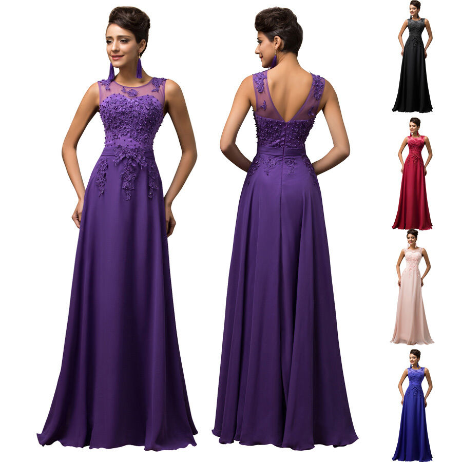 Plus size chiffon evening ball gown party wedding formal for Formal dress for wedding plus size