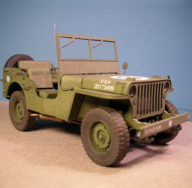 ww2 united states willys mb jeep car army truck handcraft. Black Bedroom Furniture Sets. Home Design Ideas