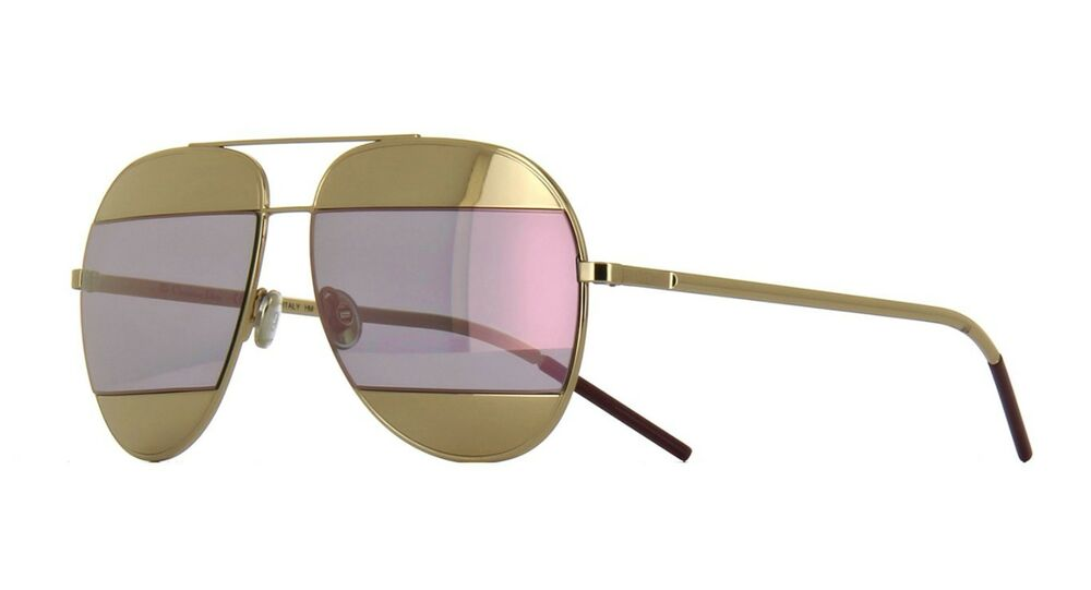 c5fb33e426f Christian Dior SPLIT 1 gold rose gold mirror (000 0J) Sunglasses  827886494132