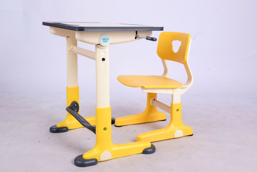 Brand New Children S Adjustable Desk And Chair Set