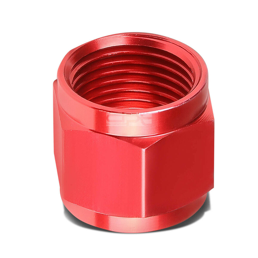 Red an quot tube sleeve nut flare fitting for aluminum
