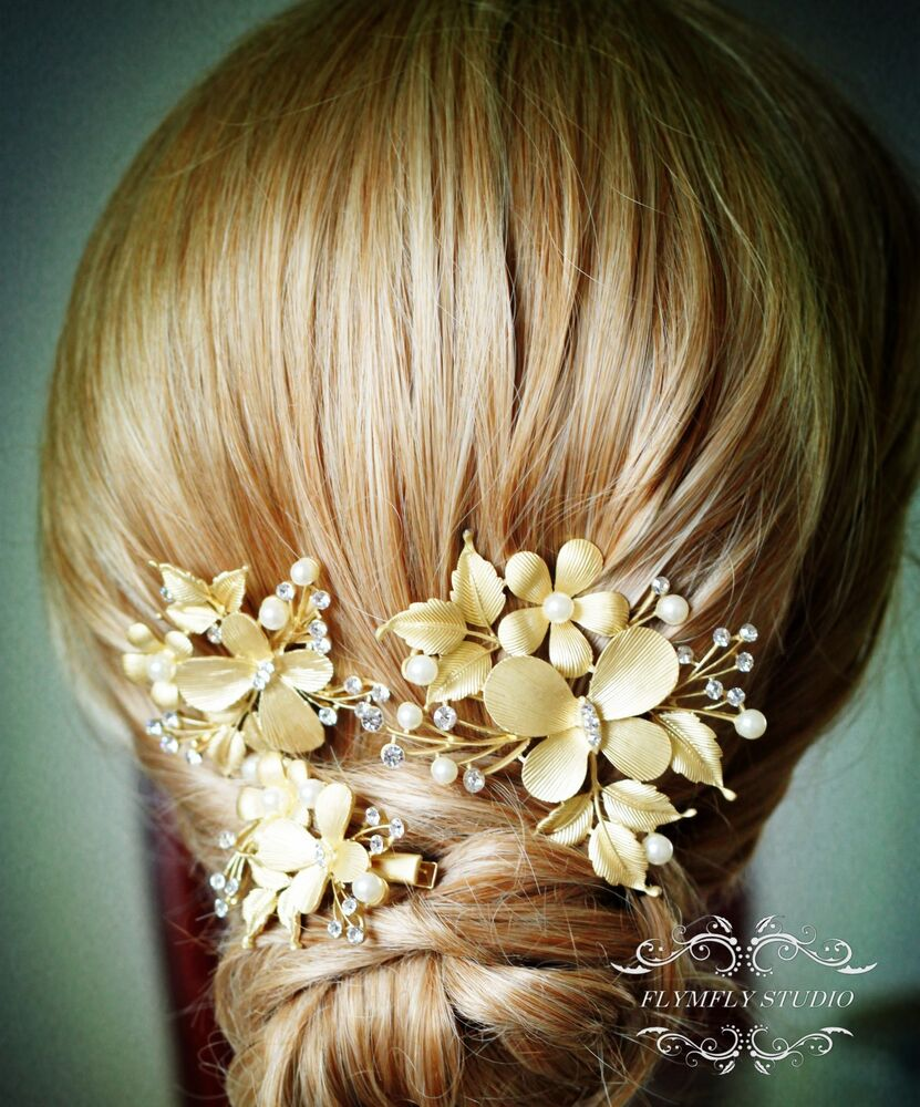 Pearl wedding hair accessories bridal hair clips formal for Where to buy wedding accessories