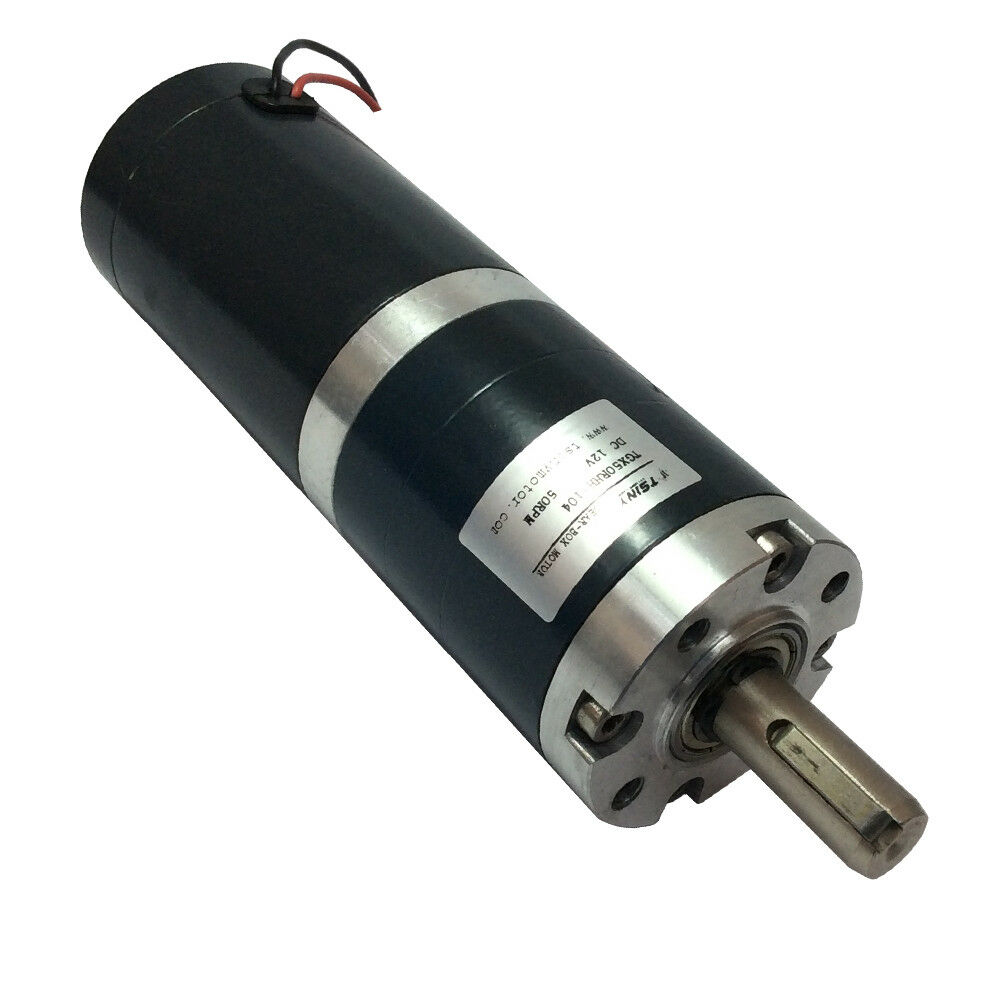Diameter 50mm 12v electric planetary geared 50rpm dc for Master electric gear motor