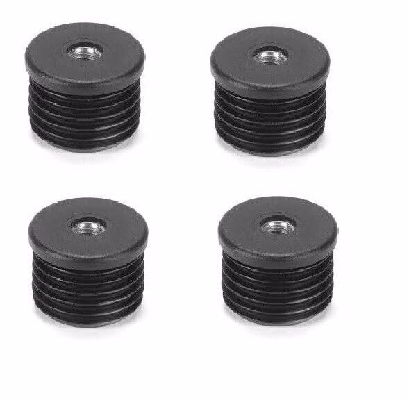 Round Threaded Tube Inserts M6 Thread Set Of 4 Inserts