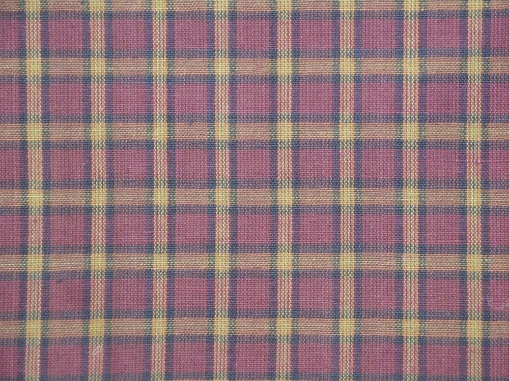 Quilt Patterns For Homespun Fabric : Wine Plaid Fabric Quilt Fabric Home Decor Fabric Cotton Homespun Fabric eBay