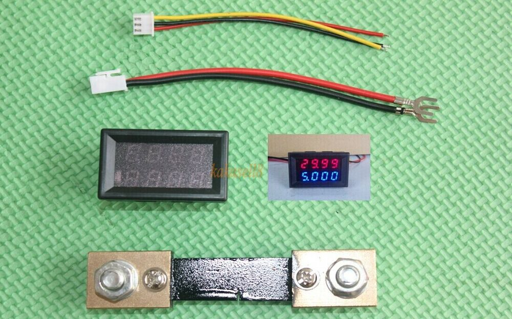 Backup Battery For Amp Meter : V a dc led voltmeter ammeter amp voltage