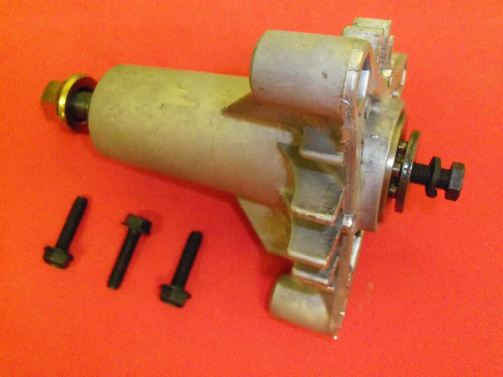 Craftsman Lt1000 Spindle Assembly : New husqvarna spindle mandrel assy with bolts