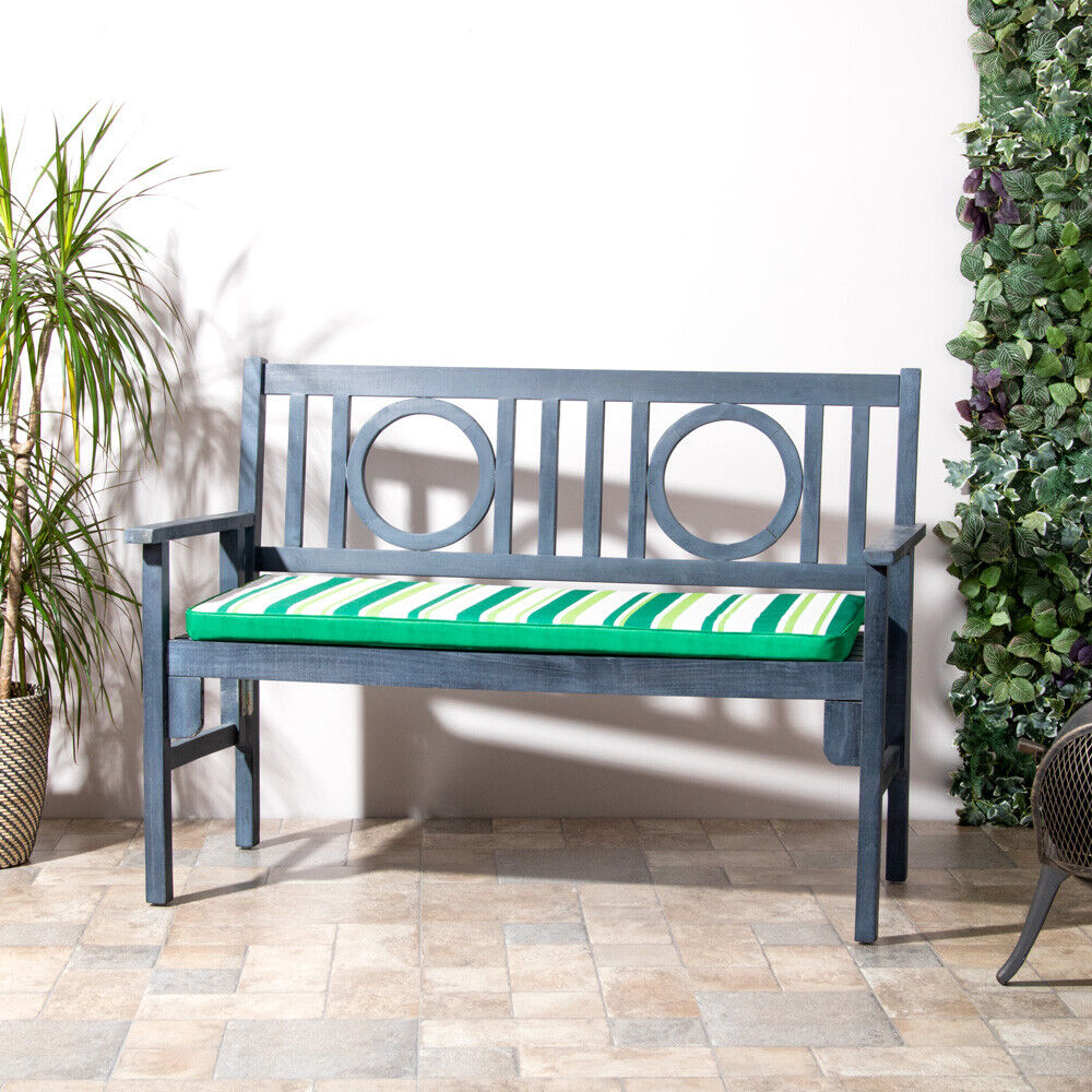 outdoor seat cushions outdoor waterproof 2 seater bench pad garden furniture 28508
