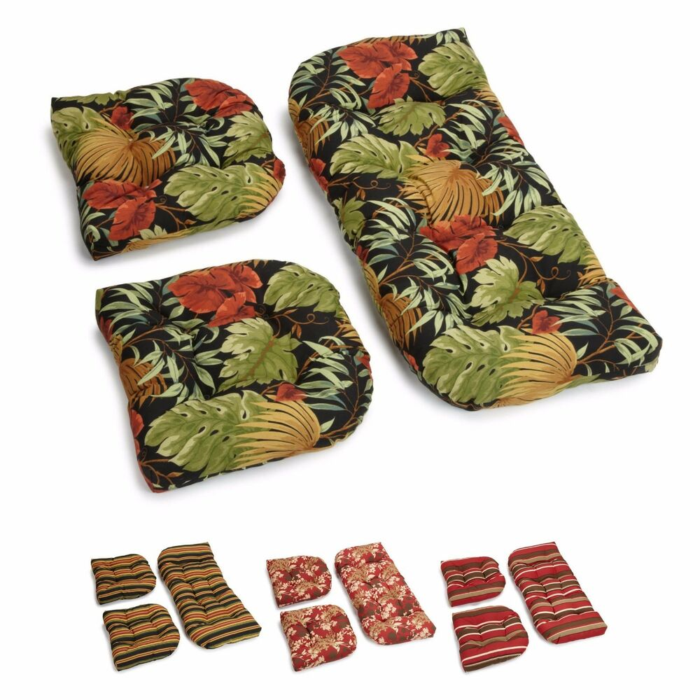 Patio Chair Foot Pads: Patio Furniture Cushions Chair Pads Bench Love Seat