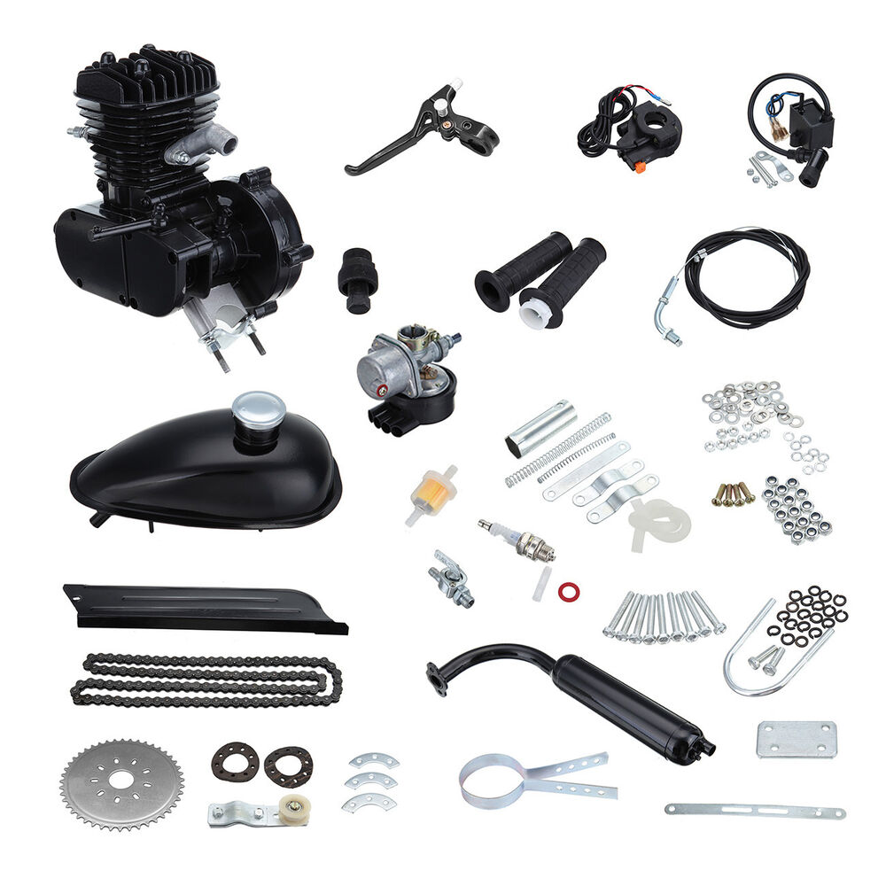 2 Stroke 49cc 50cc Bicycle Engine Motor Kit Motorized Bike
