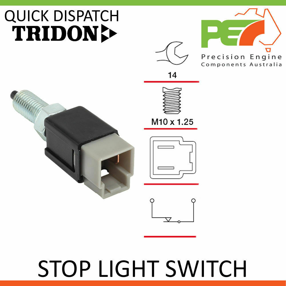 Details About New Tridon Stop Brake Light Switch For Nissan Maxima Hj30 Ua32 3 0l