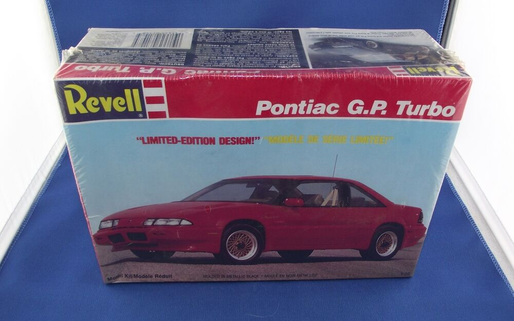 vintage revell pontiac grand prix gp turbo 1 25 model kit. Black Bedroom Furniture Sets. Home Design Ideas