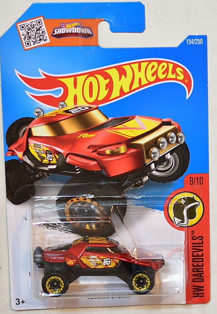 Hot wheels 2016 hw daredevils terrain storm 9 10 ebay for 9 salon hot wheels 2016