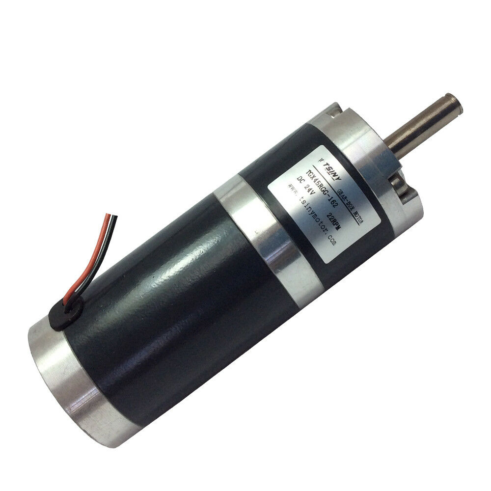 Tgx45 d 45 dc planet geared planetary gear motor 24v 22rpm for High torque high speed dc motor