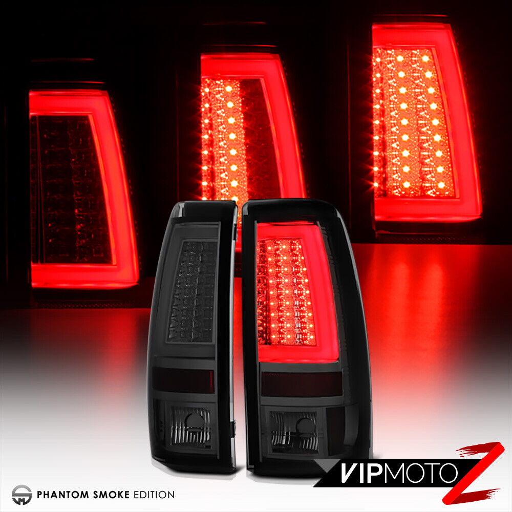 2003 2006 chevrolet silverado smoke oled neon tube led. Black Bedroom Furniture Sets. Home Design Ideas