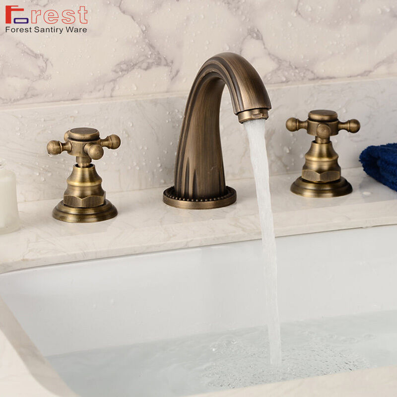 7 Faucet Finishes For Fabulous Bathrooms: Widespread Bathroom Tub Faucet For Basin Sink Mixer Tap