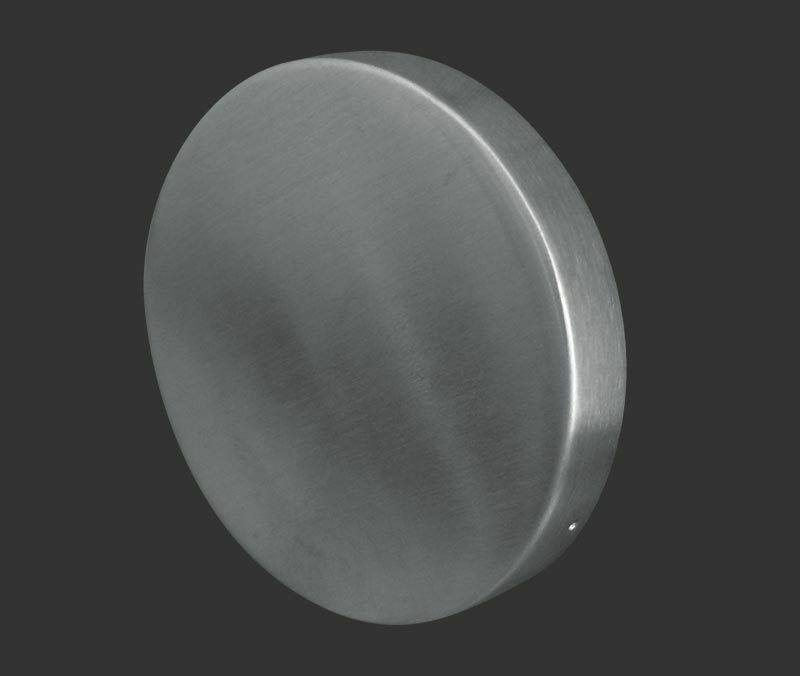 Satin Stainless Steel Escutcheon Key Hole Cover Plate