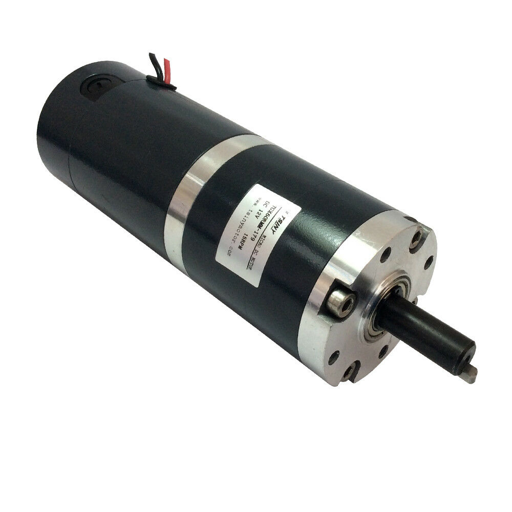 Dia 60mm tgx60 12v high torque 15rpm low speed planetary for High torque high speed dc motor