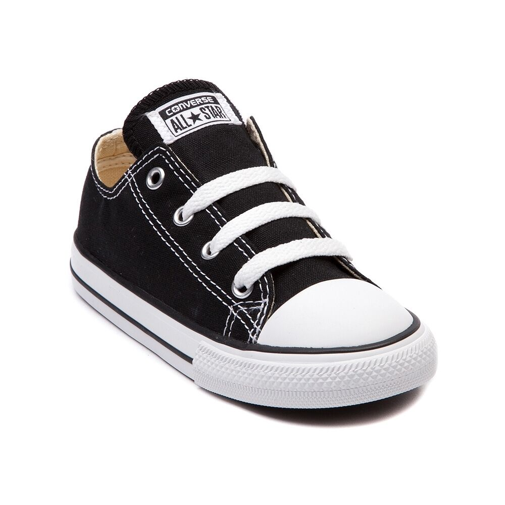 Converse All Star Low Chucks Infant Toddler Black White