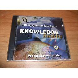 YPO Knowledge Builder Achieving Forum Excellence CD ROM Interactive Training NEW