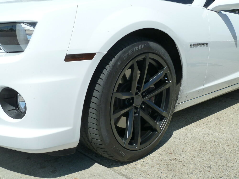 4 20x10 20x11 Camaro Style 41 Zl1 Staggered 2010 17 Satin