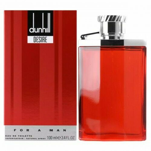 Alfred Dunhill Desire Red For Man Eau De Toilette Hommes Neuf Sous Blister 100ml