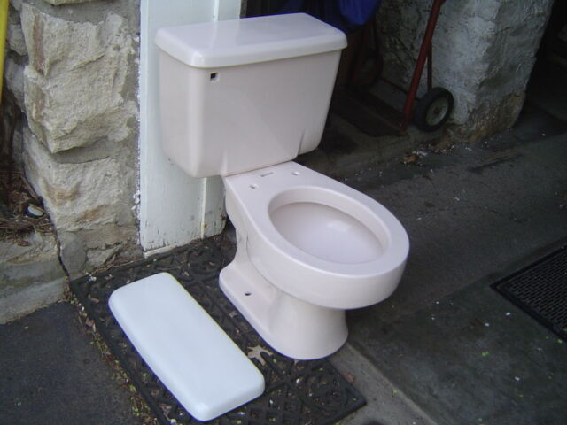 Shell Pink 1980 S American Standard 4083 735003 Toilet