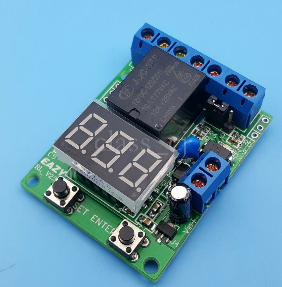 Dc12v Multifunction Relay Module Time Delay Voltage