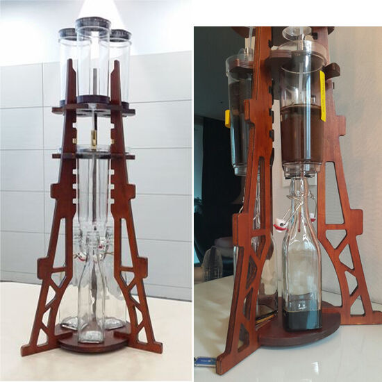 DutchQ Cold Brew Dutch Coffee Maker DIY Hand Drip Eiffel Tower 500mLX3 Korea eBay