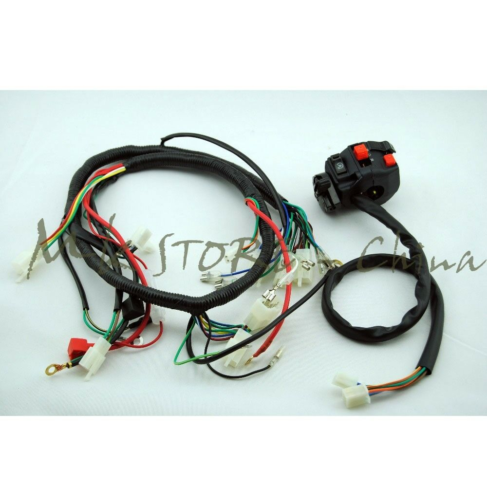 Engine AC Wiring Harness 150cc 250cc PIT Quad Dirt Bike