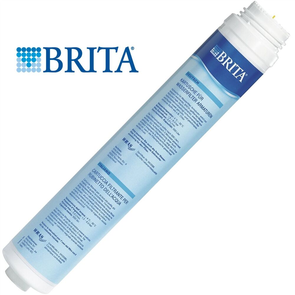 Brita Inline Tap Water Filter Refill Genuine Replacement