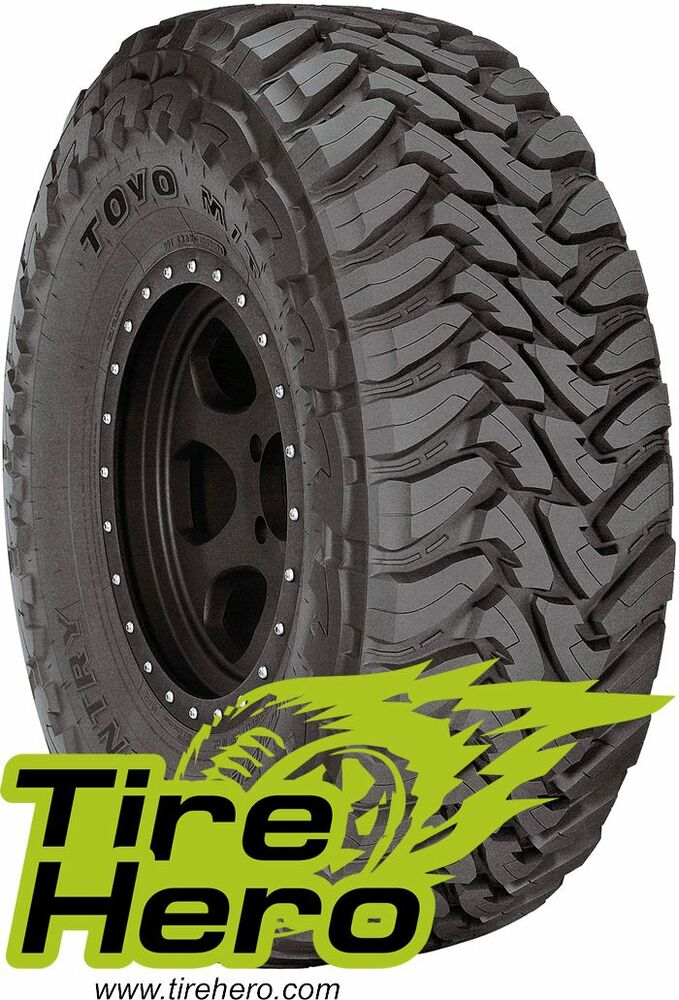 31x10 50r15 Tires >> 33X13.50R15 TOYO OPEN COUNTRY M/T BLK 109Q C 6PLY NEW SET ...