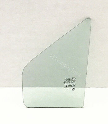 Fits 2012-2018 Toyota Yaris Hatchback Driver Left Side Front Vent Glass Window
