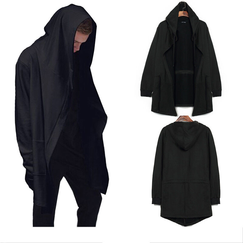 e695bfe3c2 Details about Hot Men s Cloak Style Sweater Creed Hoodie Cardigan Cosplay Assassin  Jacket Coat