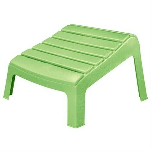 Stackable Resin Adirondack Ottoman By Adams Mfg Co EBay