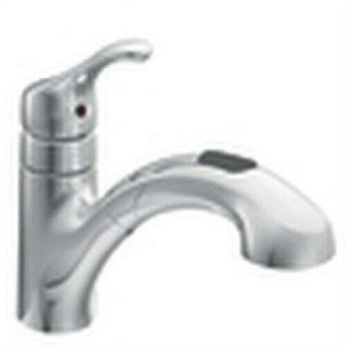 Renzo Single Handle Pull Out Kitchen Faucet By Moen Inc