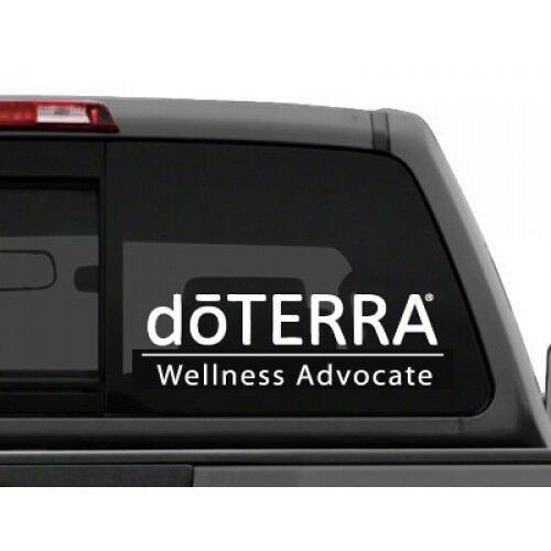 White Doterra Window Decal Sticker Personalize With Your