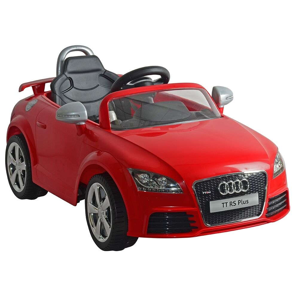 Ride On Toy Car : Kids audi tt rs v childrens electric ride on toy car