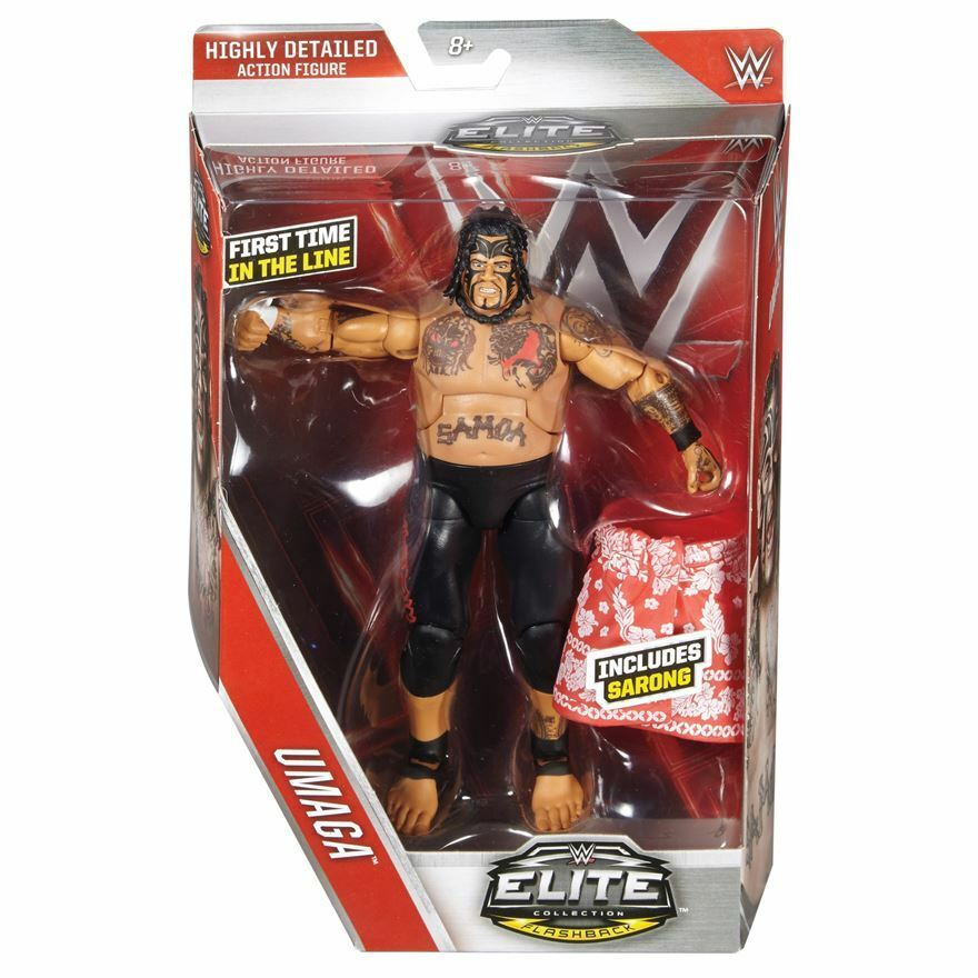 Brand New Toys : Brand new mattel wwe elite series raw umaga action