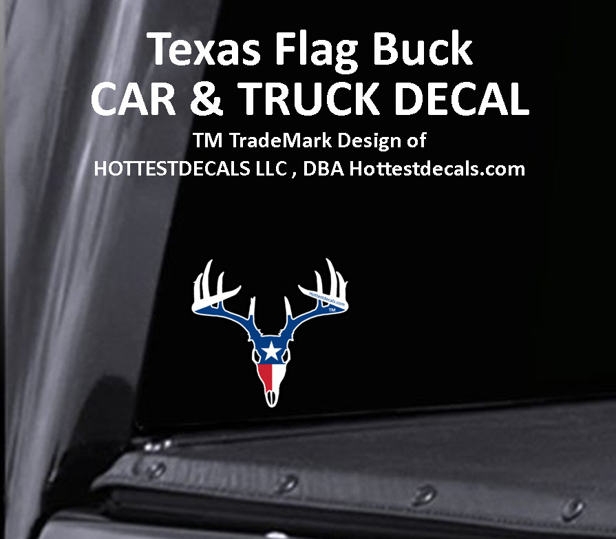 texas bowhunter decal car sticker truck lone star state flag compound bow hunter ebay. Black Bedroom Furniture Sets. Home Design Ideas