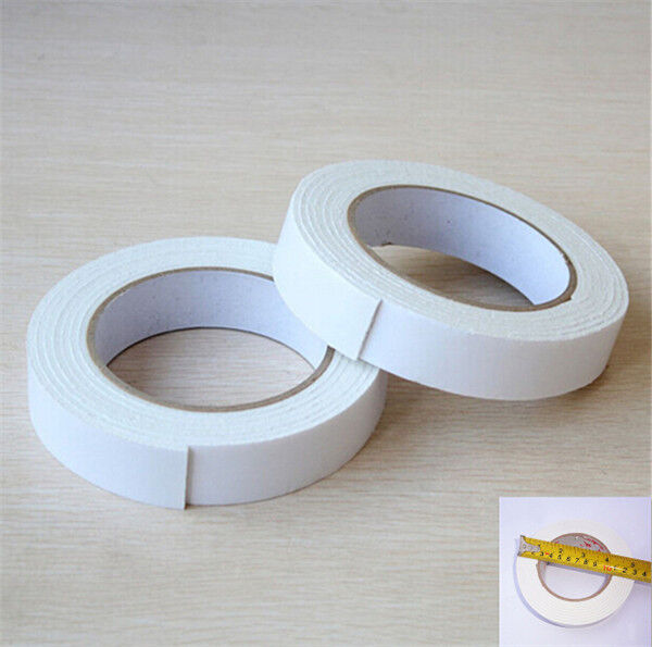 2 26mm heavy strong double sided sticky tape foam adhesive for Double sided craft tape