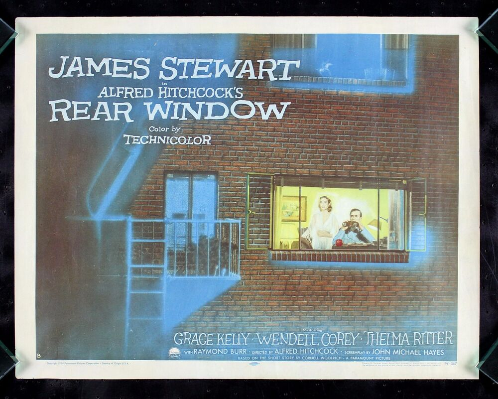 a review of rear window a movie by alfred hitchcock Rear window d v d why buy from me - movie review - james stewart's rear window - cast & crew - dvd features - dvd technical details - buy dvd - rear window repro film posters - search we are based in south london near croydon, uk, and if preferred this item can be picked up by appointment.