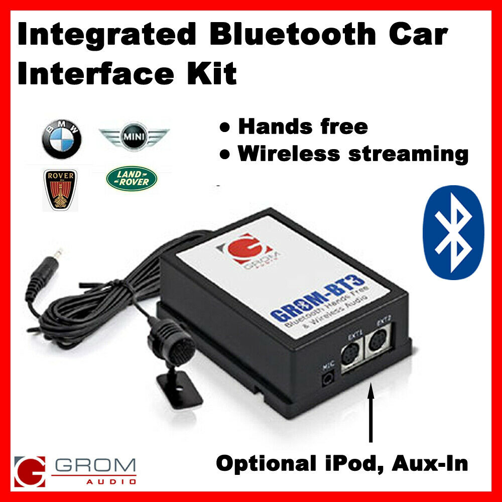 grom bluetooth hands free streaming a2dp kit for bmw e46. Black Bedroom Furniture Sets. Home Design Ideas
