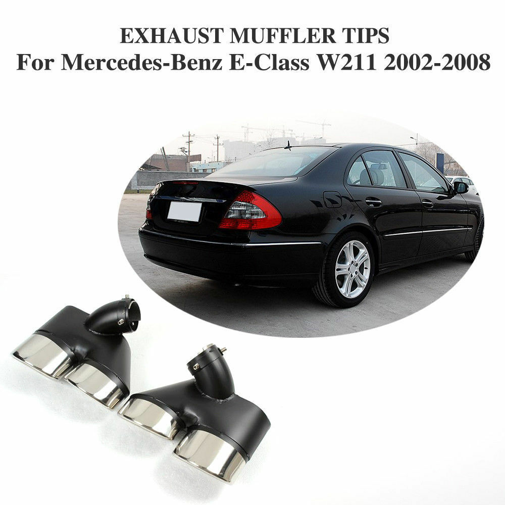 Rear exhaust muffler tail pipe fit for mercedes benz w211 for Mercedes benz exhaust